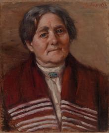 Portrait of Mother (two-sided picture)