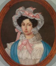 Portrait of Mme. Leńska